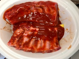 Step 6 Add Favorite BBQ sauce and cook low and slow for 6-8 hours